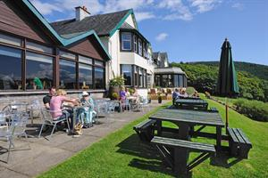 The Chart Room II Bistro at Loch Melfort Hotel by Oban