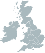 Full UK and Ireland Map